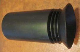 Wegu távcsővédő gumi 90x38 mm A
