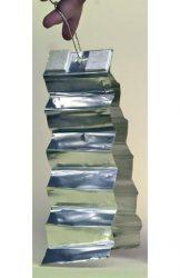 Alumínium csíkok a vaddisznó riasztó