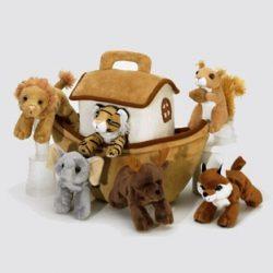 Noé bárkája plüssből