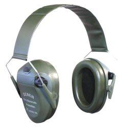 Fülvédő elektromos zöld