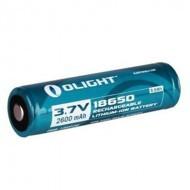 Olight 18650 Litium-ion akku 2600mAh