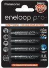 Panasonic eneloop pro akkumulátor 2450mAh 4db