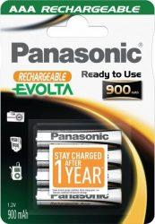 PANASONIC AAA 4db 900 mAh Evolta (HHR-4XXE/4BC)