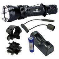Olight M21-X Warrior LED lámpa + akku szett + lengőkapcsoló + szerelék
